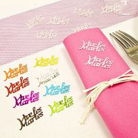 "Confettis de table "" Vive les maries """