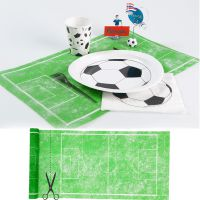 Set de table terrain de foot X9