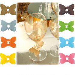 Marque place papillons x24