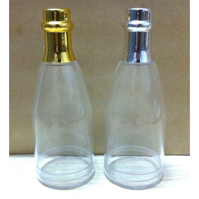 drag es mariage mini bouteille champagne drag es or ou. Black Bedroom Furniture Sets. Home Design Ideas