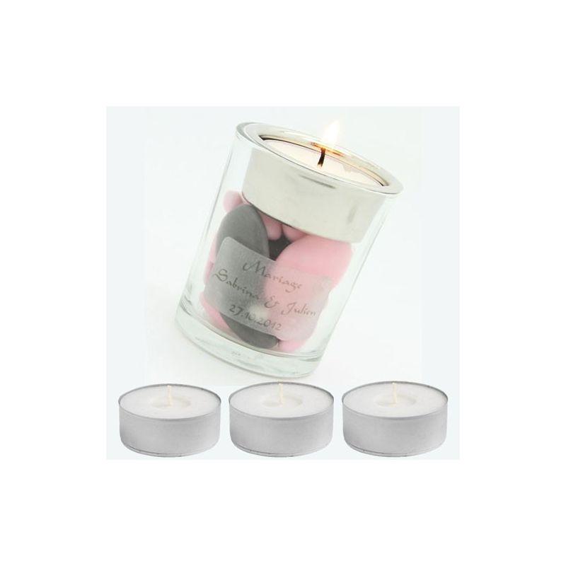 bougie chauffe plat ronde d corations de table fleurs. Black Bedroom Furniture Sets. Home Design Ideas