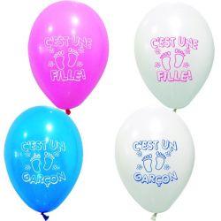 """Ballons """"C'est une Fille ou Garçon X8"""