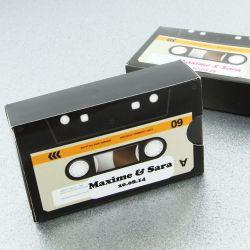 Boîte dragée cassette audio X10