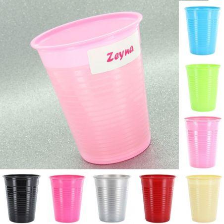Gobelet plastique couleur X25