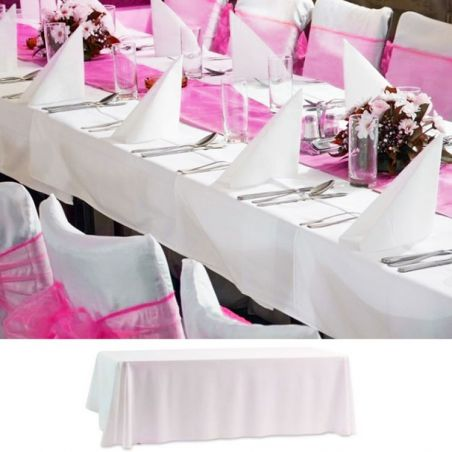 Nappe de table rectangulaire 1.5 x 3m