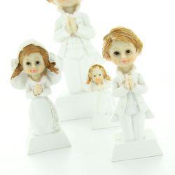 Figurine communion fille et garçon - 8cm