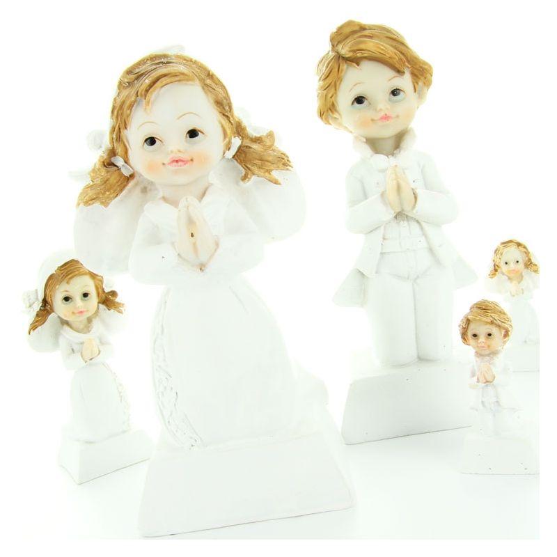Figurine communion gateau fille ou garçon - 14cm