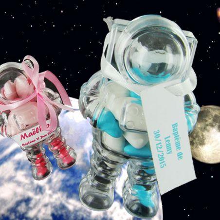 Boîte dragées Cosmonaute (les 3)