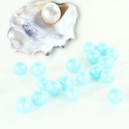 Perlage sucre Nacré Bleu 100gr
