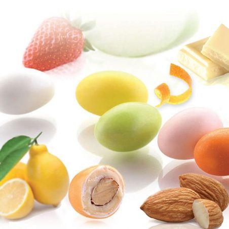 Dragées aux fruits et Amande
