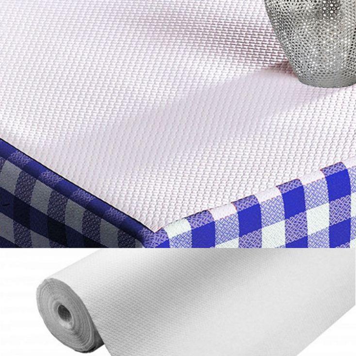 nappe papier jetable gaufré blanche - rouleau de 20 x 1,20 m