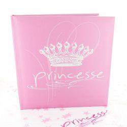 Livre d'or bapteme Princesse