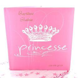 """Livre d'or personnalisé """"Princesse"""""""