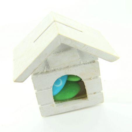 Petite niche boite dragées en bois