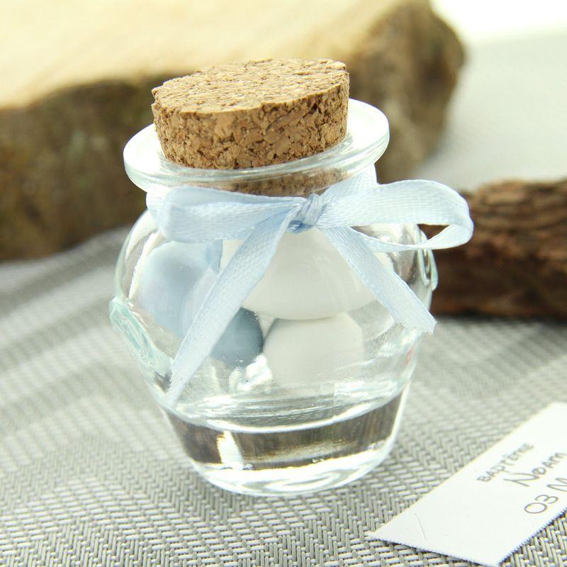 Pot dragées mini Jarre en verre