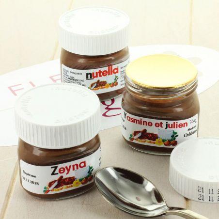Mini pot de NUTELLA® 25g - Personnalisé