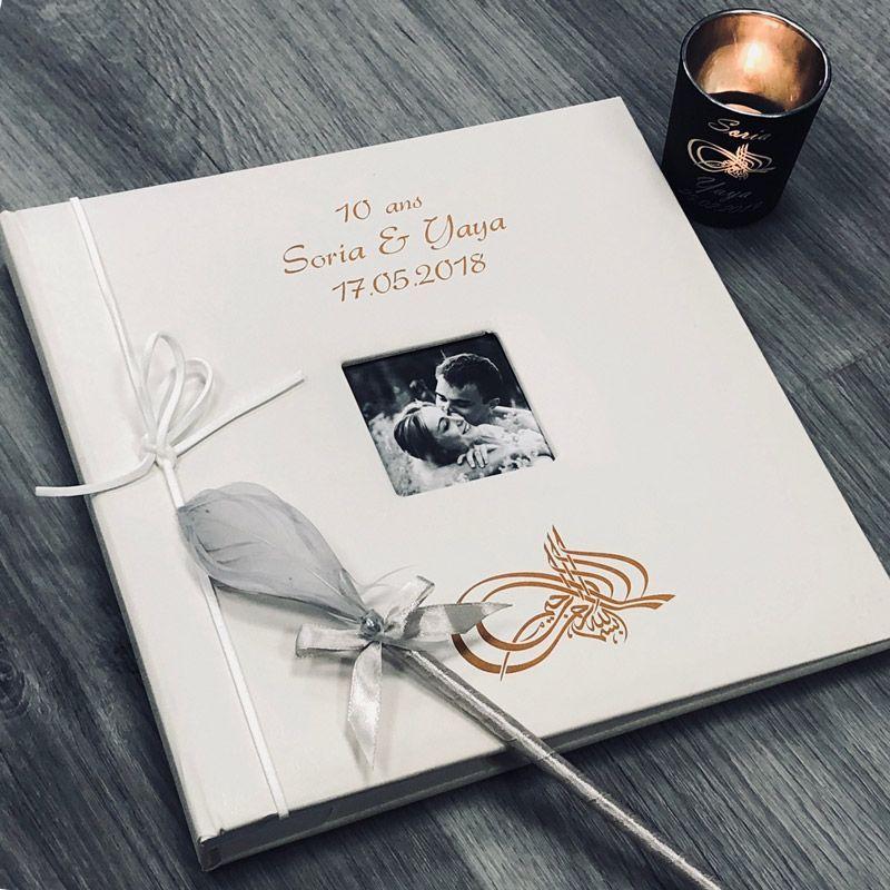 Livre d'or personnalisé / Album photo - Calligraphie Musulmane
