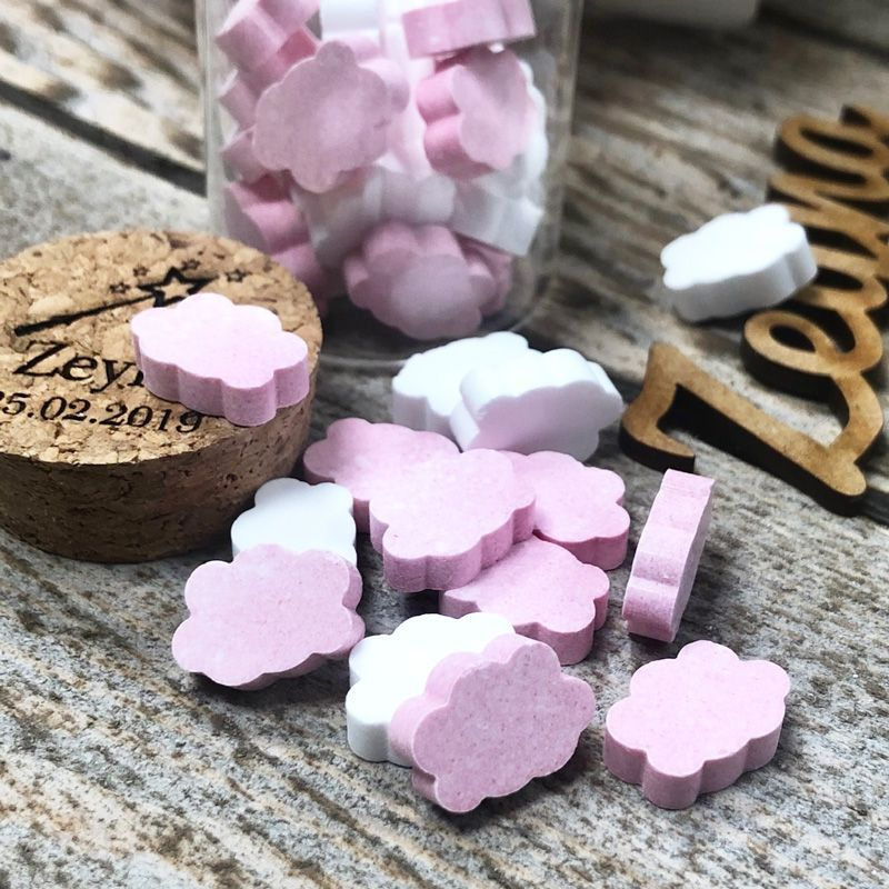 Bonbon mini Nuages dextrose 990psc - Rose