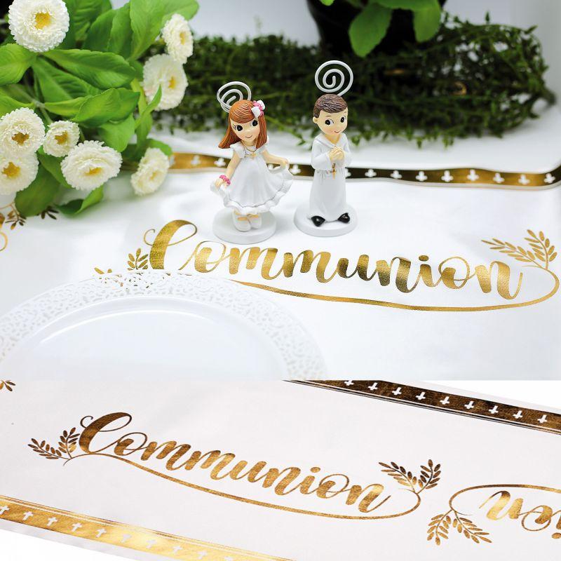 Chemin de table Satin communion
