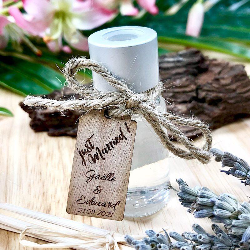 Mini Diffuseur parfum personnalisé Mariage (lot de 10)