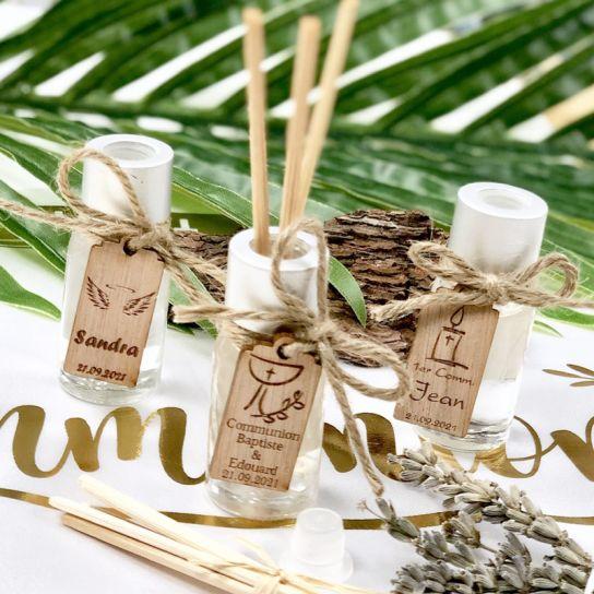 Mini Diffuseur Parfum Personnalisé Communion (lot De 10) ...