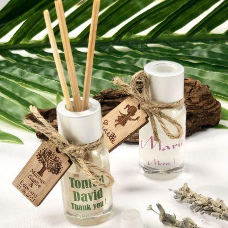 Mini Diffuseur parfum personnalisé au Nom d'invité X10